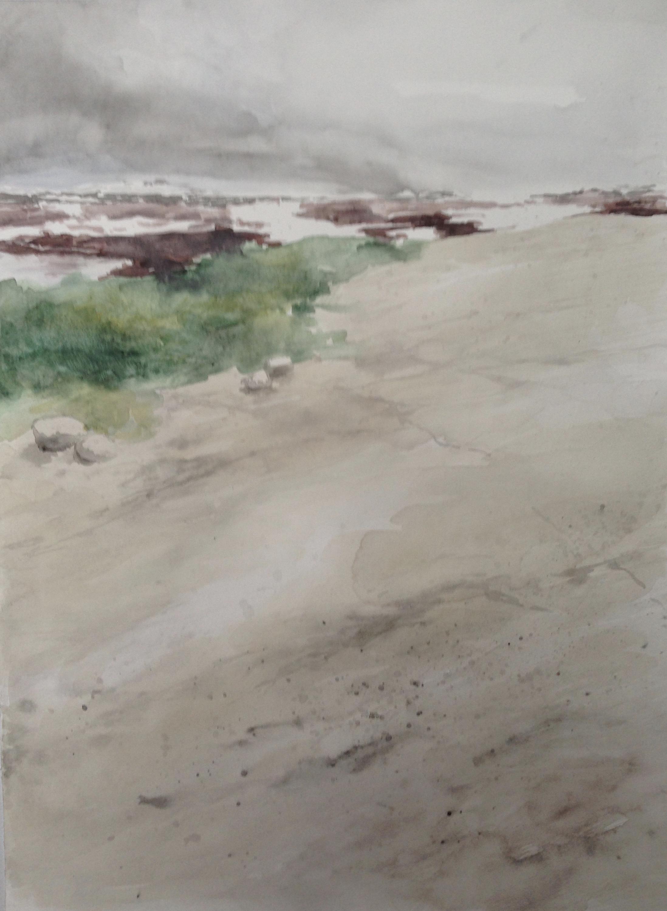 78-Noorwegen/aquarel/30x40cm