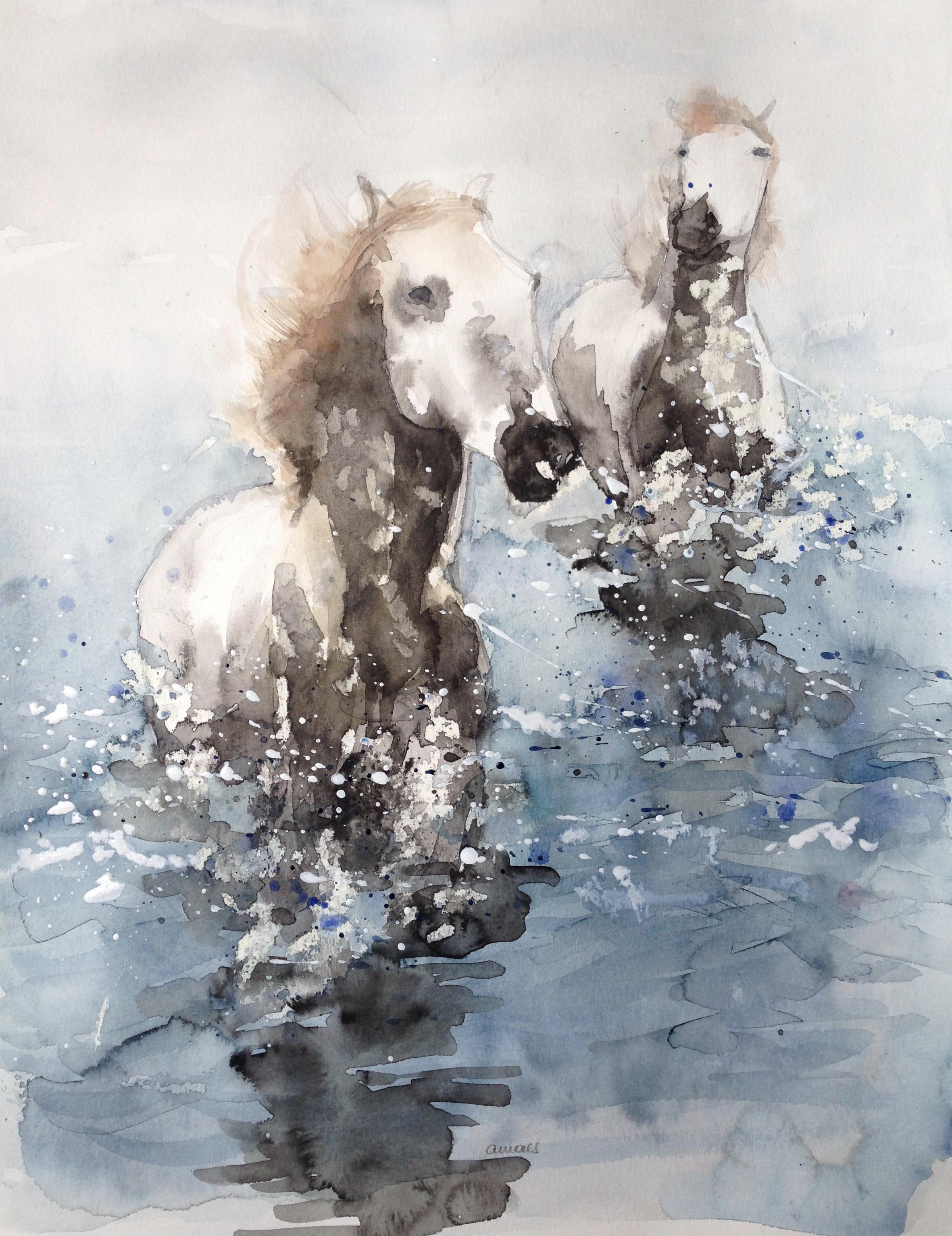 106-water!/aquarel 40x50cm
