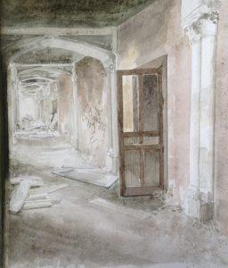 S-Ruïne (48)aquarel