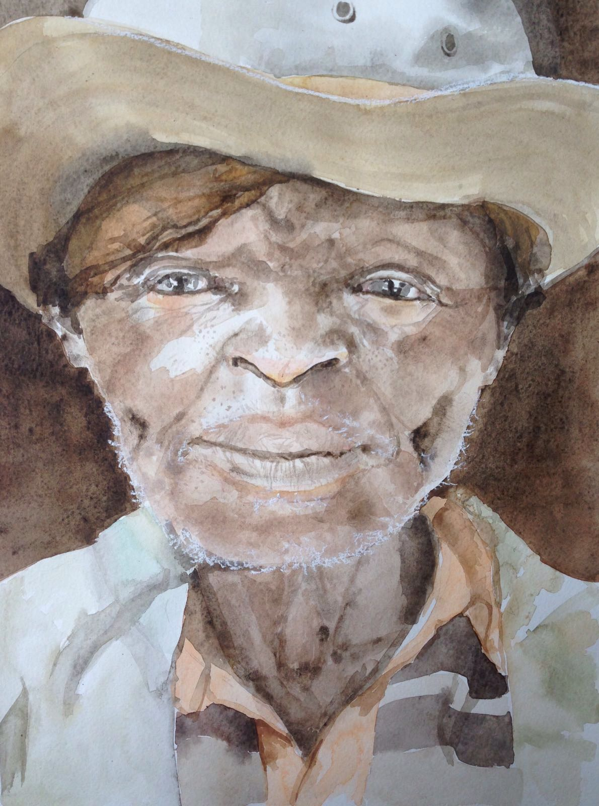 22-Uncle Tom/aquarel 30x40cm