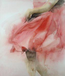 74-dancing/aquarel
