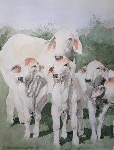 73-Pastorale/aquarel